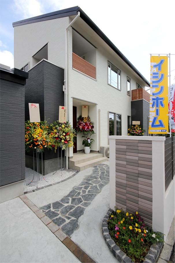 イシンホーム住宅研究会 ニジ・ハウスのモデルハウス完成